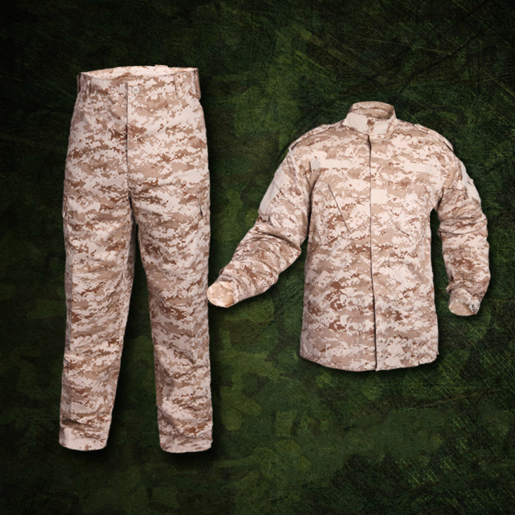 Uniforme militaire ACU désert numérique Camo formation vêtements tactique Combat veste Cargo pantalon costume CS armée vêtements hommes