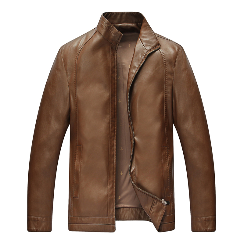 Tailoring leather jacket
