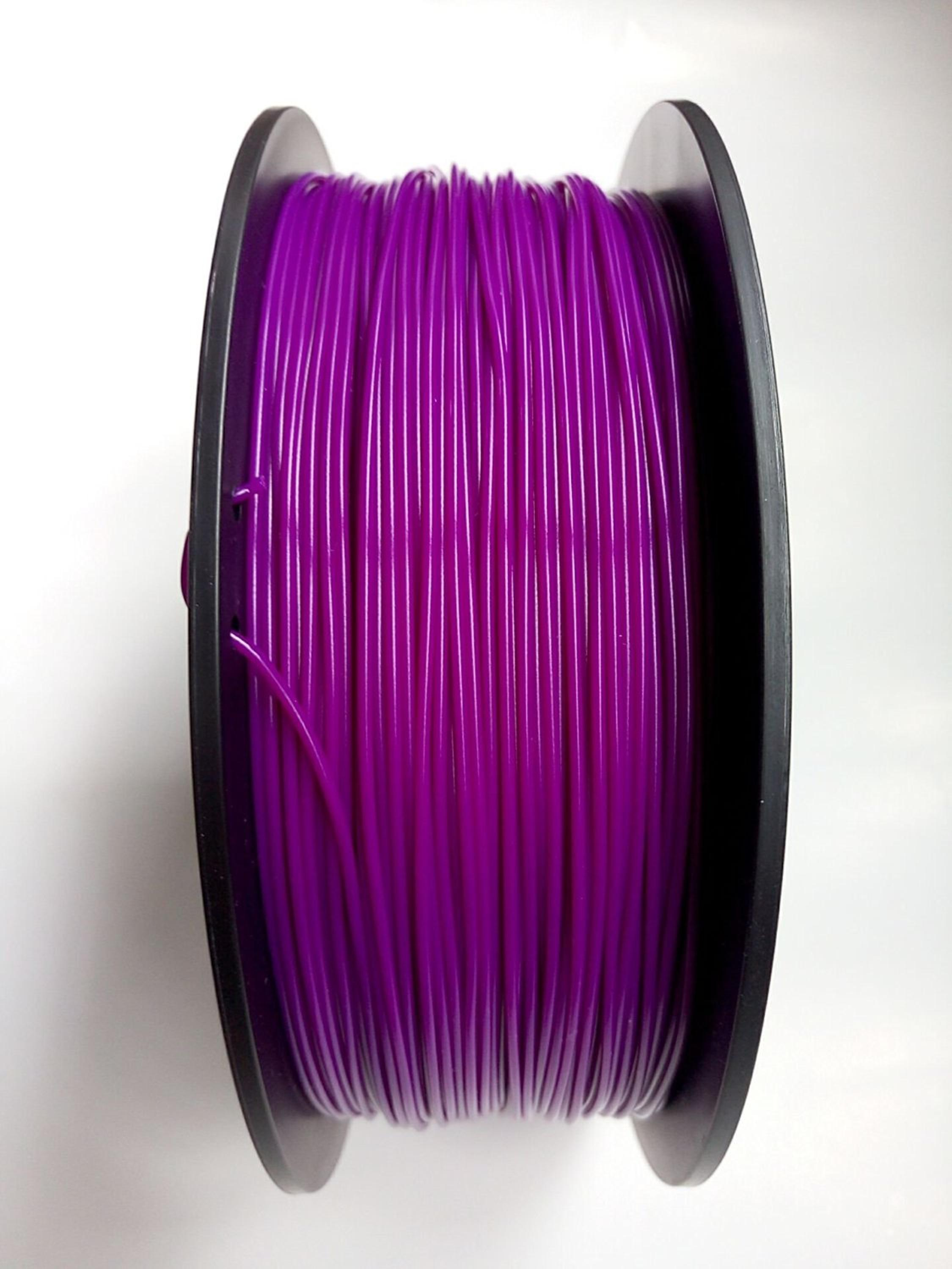 1.75mm Purple PLA 3D Printer Filament - Dimensional Accuracy +/- 0.05mm - Multiple Color Choices
