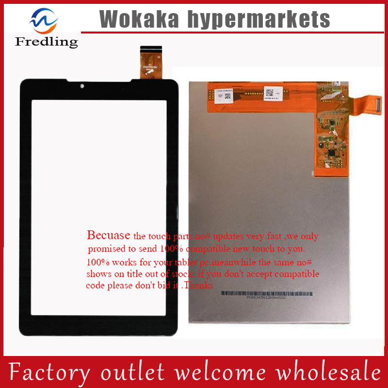 New 7 inch touch screen for Prestigio MultiPad PMT 3777 3G lcd display Tablet PC touch panel digitizer glass  sensor