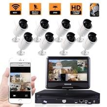 8CH 720P Wi-fi CCTV Digital camera NVR equipment 2TB HDD 1MP IP Digital camera Outside IR Night time Imaginative and prescient Safety Surveillance System 10.1″ Monitor