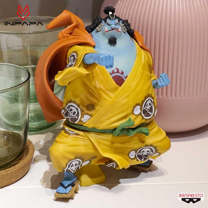 Новый статуя король художник Джинбей комиксов аниме Одна деталь Луффи соломенная шляпа Пираты Banpresto Рисунок Фигурка Игрушки