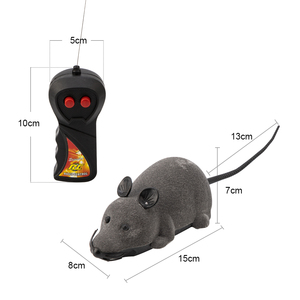 Image 4 - Mouse Toys Wireless RC Mice Cat Toys Remote Control False Mouse Novelty RC Cat Funny Playing Mouse Toys For Cats