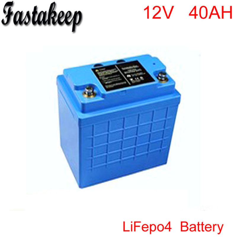 Free to RU E-Bike,Electric motorcycle deep cycle 12v 40ah lithium lifepo4 battery pack 12V Lifepo4 Electric Bicycle Battery free customs taxes and shipping storage battery lifepo4 lithium battery 12v 40ah for ups solar system security system