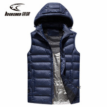 цена LXIAO Heated Vest Heating Thermal Winter Clothes Men Windproof Warm Waistcoat for Outdoor Camping Hiking Hunting 3 Level Power онлайн в 2017 году