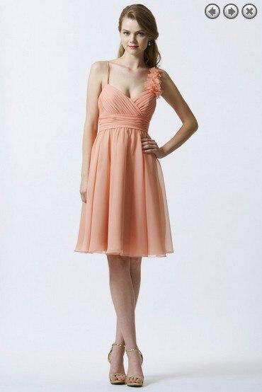 free shipping 2016 celebrity style dinner   dress   vestidos de festa formal gowns bride   dress   plus size short   Bridesmaid     Dresses