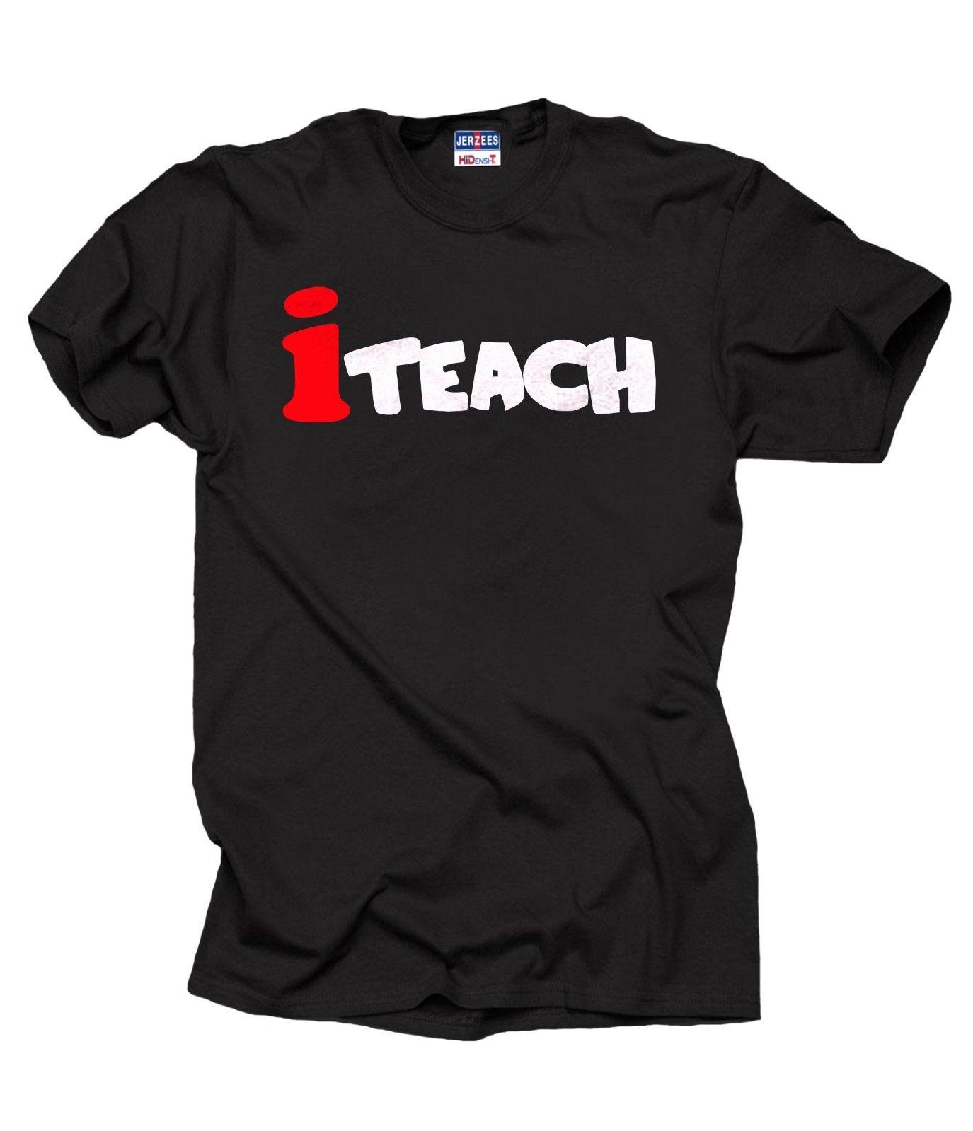 Teacher T-Shirt Gift For Teacher i Teach Tee Shirt