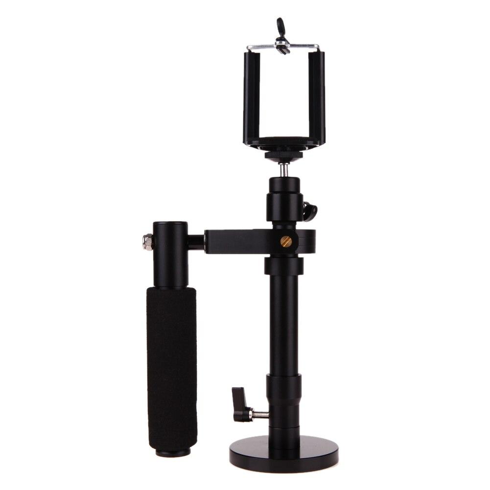 Adjustable Handheld Video Shooting Stabilizer Steadycam Steadicam for SJCAM Gopro DSLR Cameras for iPhone Samsung Smartphone