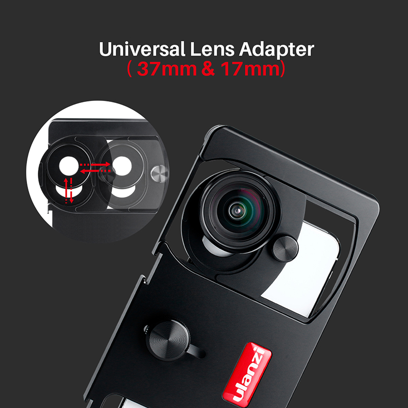 Image 4 - Ulanzi U Rig Metal Handheld Photo Phone Video Rig Gear Vlogging  Rig Stabilizer with Wide Angle Mobile Lens Film Making CasePhoto Studio  Accessories