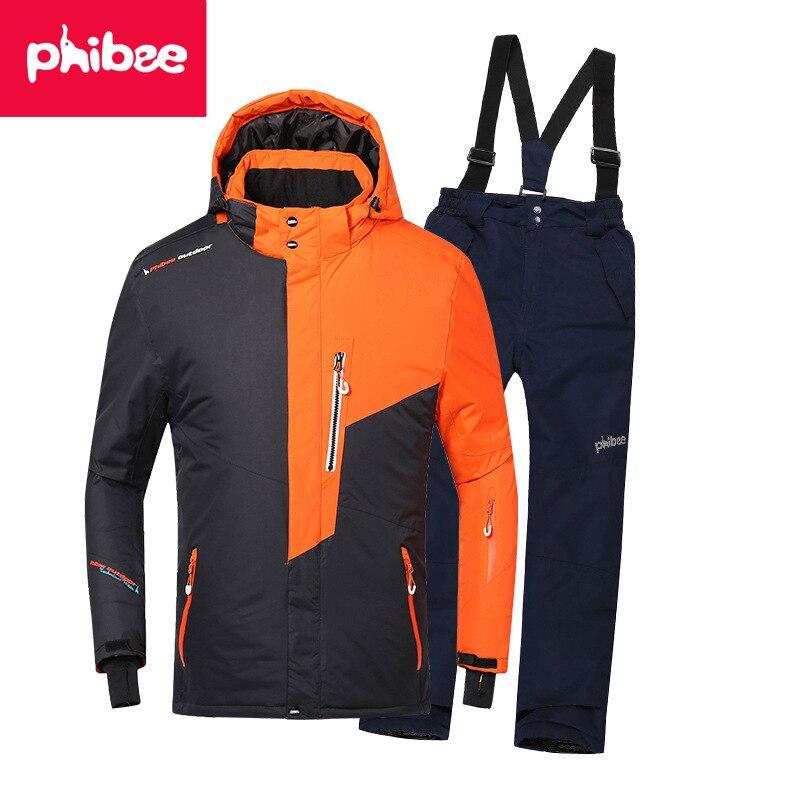 Snowboard Jacket And Pants 110-160 Children's Winter Set Kids Baby Sport Windproof Waterproof Warm Coats Snow Ski Suit For Boys