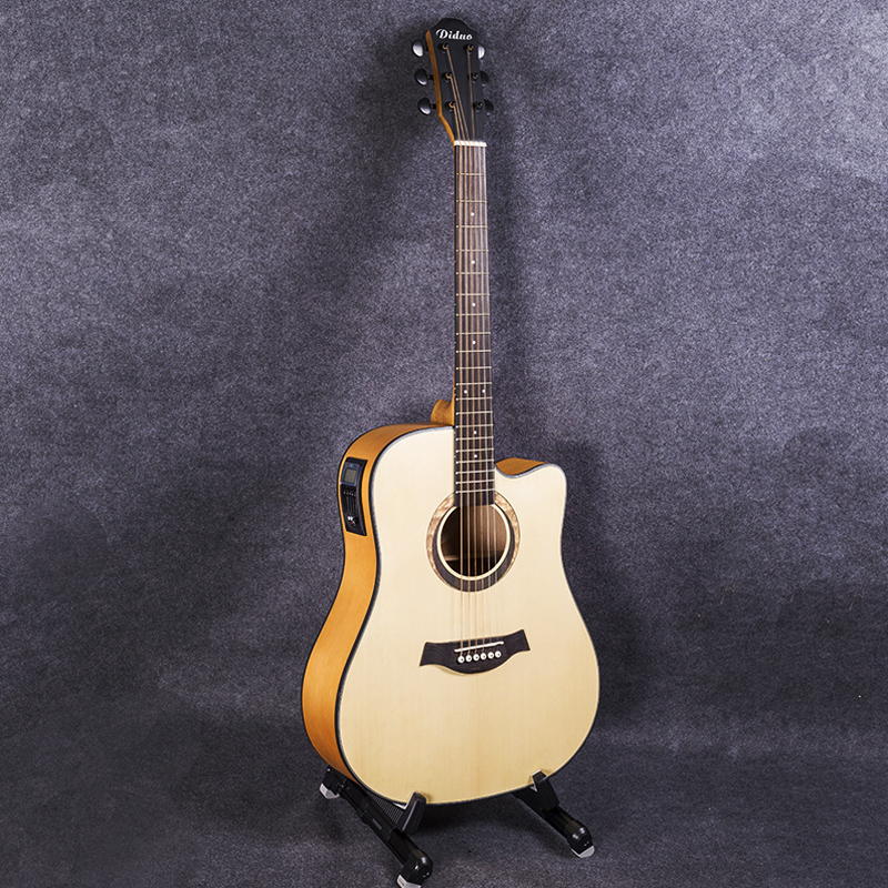 41 inch EQ Electric Acoustic Guitar Picea Asperata wood Guitarra Stringed Instruments AGT62