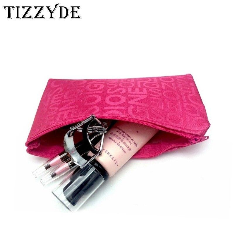 2018 Koreanische Mode Buchstaben Kosmetik Tasche Weibliche Make-up Tasche Reise Notwendigen Paket Mode Kosmetik Tasche Tq4210-c
