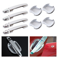 New Chrome Door Handle w/smart key + Cup Bowl Cover Trim for Toyota Corolla 2003 2004 2005 2006 Yaris Vios 2006 2007 2008 2009