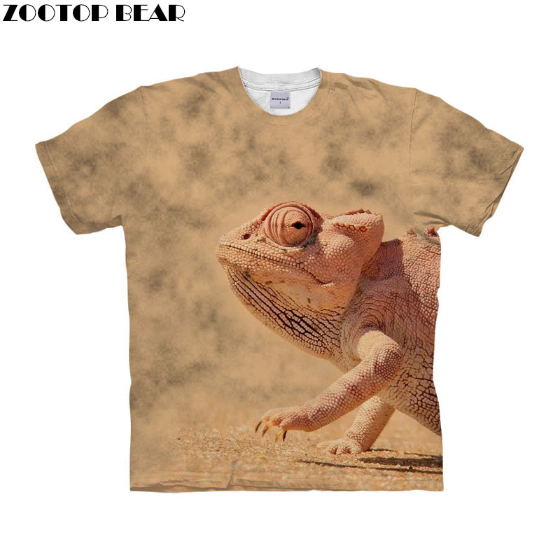 <font><b>Frog</b></font> Anime t shirt 3d t-shirt Men <font><b>tshirt</b></font> Short Sleeve Tee Autumn Top Funny <font><b>tshirt</b></font> Streetwear Camiseta 2018 Drop Ship ZOOTOP BEAR image
