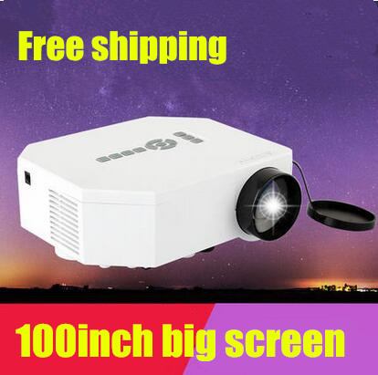ФОТО Free shipping LED Mini Portable projector For Home Theater For Video Games TV Movie Support HDMI VGA AV Portable