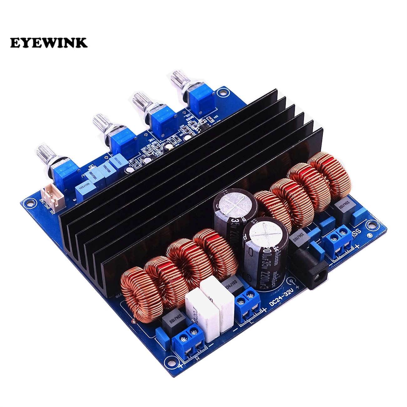 Online Shop 21 High Power Amplifier Plate Product Digital Class D 3 Megabass Circuit With Tl072 Eyewink New Arrival Tda7498 Board 200w 2x100w Electric