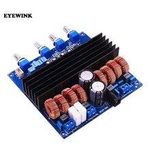 Placa amplificadora TDA7498 + TL072, placa amplificadora Clase D 2,1, 200W + 2 Circuitos integrados eléctricos, novedad