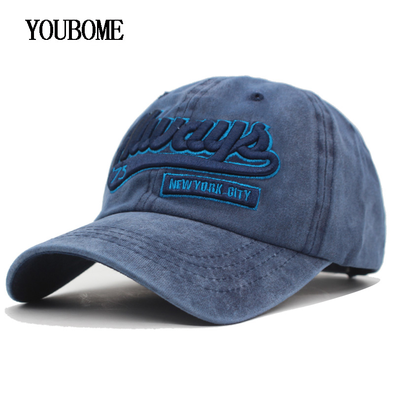 YOUBOME 100% Cotton Brand   Baseball     Cap   Men Snapback   Caps   Women Hats For Men Vintage Embroidery Casquette Bone MaLe Dad Hat   Caps