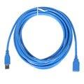 Alta Qualidade USB3.0 Um Macho Plug para Tomada Fêmea 16FT/5 m cabo de Extensão Do Cabo Super Rápido