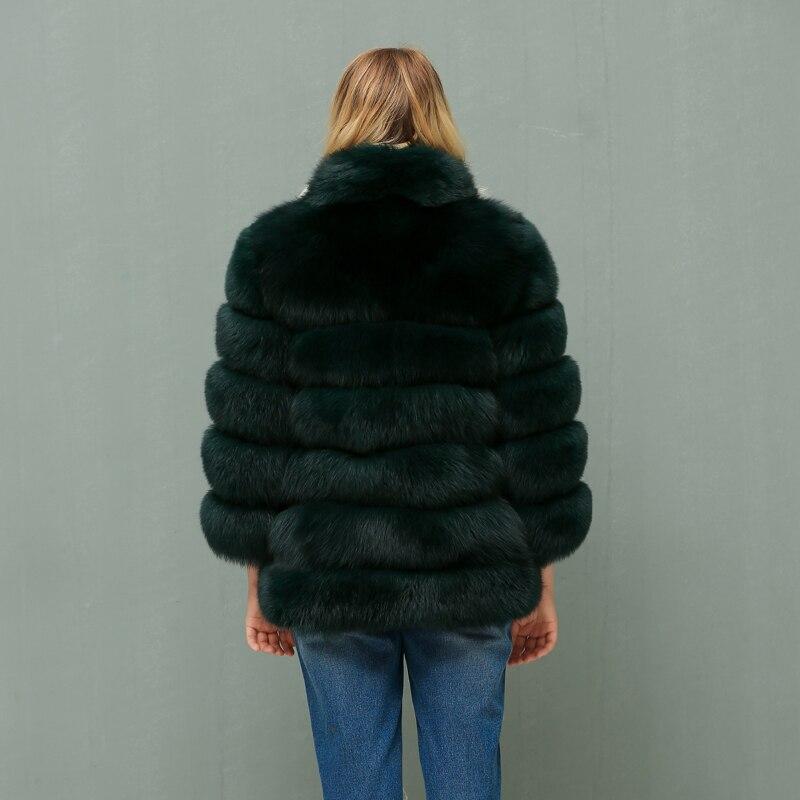 2018 Des Col Renard Court Personnalisé Fourrure Avec Femmes De Importé Montant Nouveau Mode Manteau Arlenesain 485Opwqw