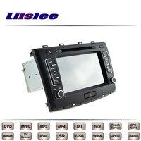 לחומה גדולה לרחף טלוויזיה DVD מולטימדיה לרכב ניווט GPS רדיו סגנון מקורי Liislee מתקדם Navi