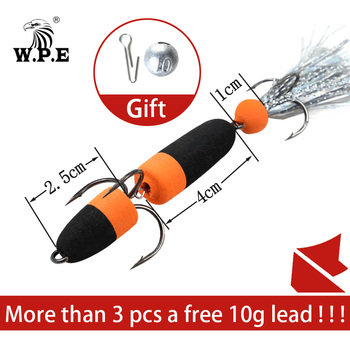 Best No.1 W.P.E Brand MANDULA fishing lures for pike Swim Bait