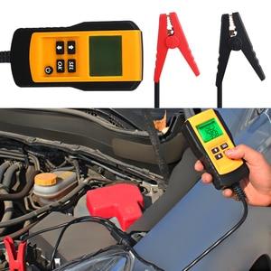 Image 5 - Цифровой 12В Автомобильный анализатор батареи автомобильный тестер батареи состояние батареи сопротивление напряжения CCA значение тест детектор