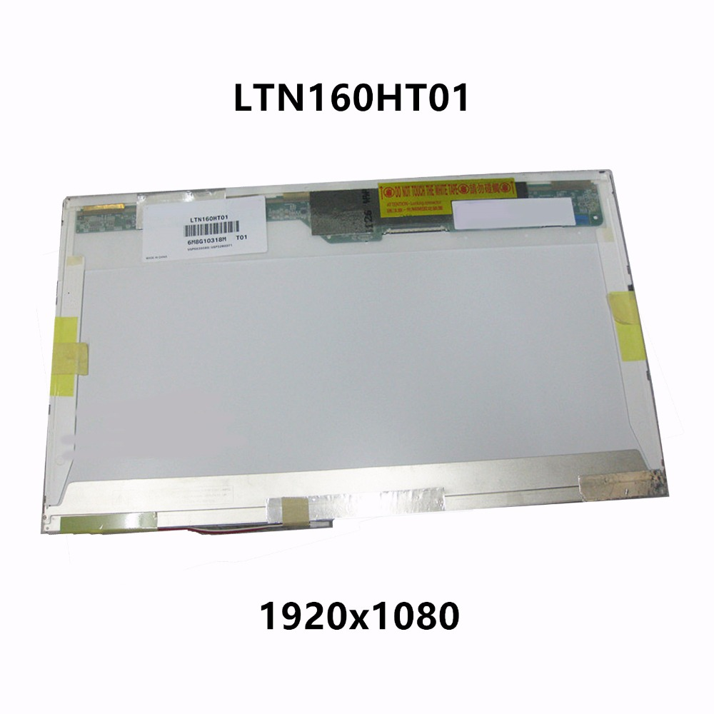 New 16'' LCD Screen Display Matrix Panel CCFL FHD LTN160HT01 LTN160HT01-A01 A02 A03 LTN160HT01-001 LTN160HT01-100 LTN160HT01-101 hot sale 4 lamp single port high pressure inverter board lcd screen panel monitor ccfl new 2017