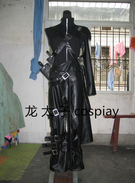 2016 FINAL FANTASY VII ADVENT CHILDREN Cloud Strife Cosplay Costume Halloween Uniform
