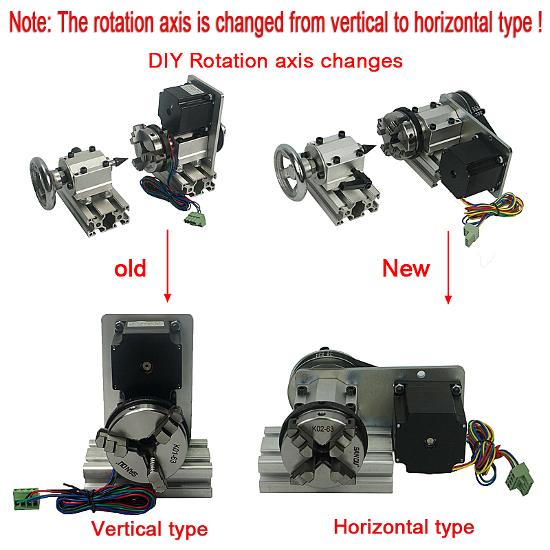 DIY 4axis changes 2