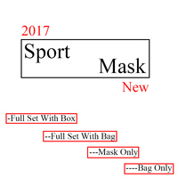 Dropshipping Newest Training Sport Mask 2 0 For Men Fitness Or Outdoor Sport With Box Logo