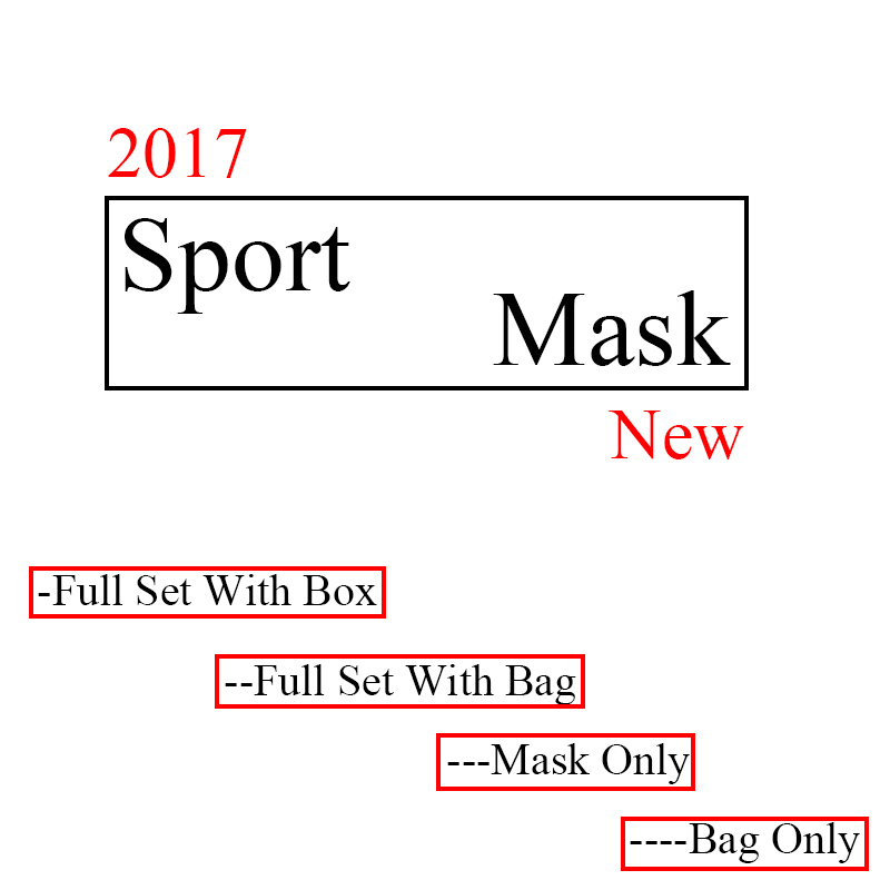 More Model Dropshipping Newest Training Mask 2.0 Sport For Men Fitness Or Outdoor Sport With Box Logo Fast Shipping
