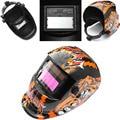 Bear Solar Power Auto Darkening Welding Helmet Lens Arc Tig Mig Grinding Electric Welder Mask Helmet Cap for Welding Machine