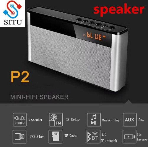 10W HIFI Bluetooth Speaker Portable Wireless Super Bass Dual Speakers Soundbar With Mic TF FM Radio USB Sound Box LED Dispaly
