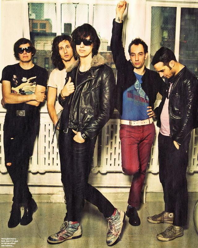 ⃝MX04930 los golpes-americano Julian casablancas indie rock 14 x 18 ...