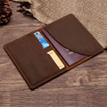 Passport Holder for Travel High Quality Vintage Crazy Horse Leather Passport Cover 2017 New Arrivals Credit Card Holder Wallet