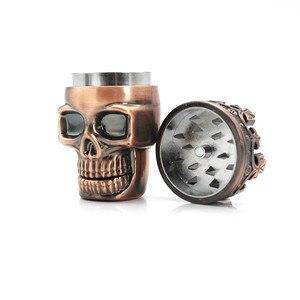 King Skull металлическая табачная травяная мельница для пряностей измельчитель Shantou травяная шлифовальная машина для специй