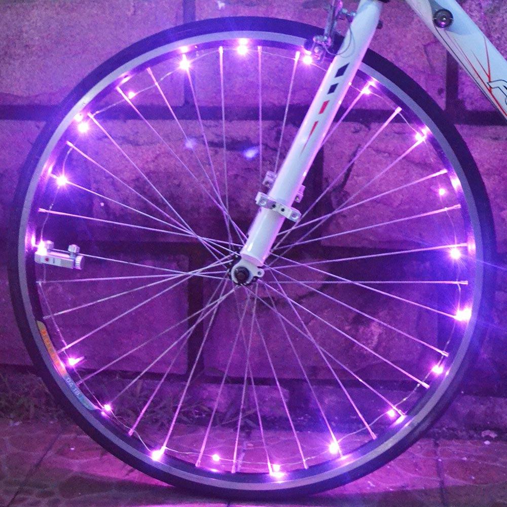 Bicycle Outdoor New Bike Cycling Bike Rim Lights  String Lamp Wheel Spoke light