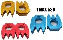 ДЛЯ Yamaha аксессуары TMAX530 ЧПУ зубчатого ремня украшения аксессуары алюминий пара (3 цвет необязательно)