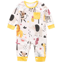 YiErYing High Quality Baby Rompers Newborn Soft Cotton Clothing Infant Jumpsuit Baby Cartoon Costumes Pajamas цены