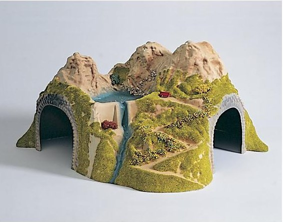 Ho 1:87 Train Model Train Tunnel Model Train Cave double line цена