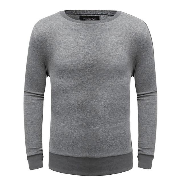 Camisola da caxemira Dos Homens 2017 de Inverno Dos Homens Quentes Blusas O-pescoço Homens Pulôver de Lã De Malha Cor Sólida Puxar Plus Size Pullovers
