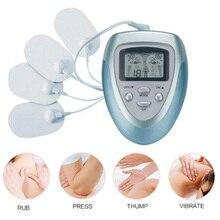 مجموعة تدليك الجسم الكهربائية EMS محفز كامل الجسم الاسترخاء العضلات العلاج نبض عشرات الوخز بالإبر مدلك دروب شيبينغ