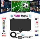 120 Miles Antena Digital HDTV Indoor TV Antenna with Amplifier Signal Booster TV Radius Surf Fox Antena HD TV Antennas Aerial