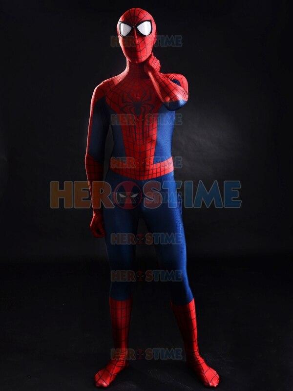Increíble traje de Spider-Man 2, el más popular, rojo y azul, - Disfraces - foto 2
