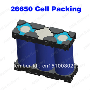 Image 4 - Livraison Gratuite! 26650 support de batterie lithium ion batterie boîte 3P 26650 support de cellule 26650 li ion batterie boîtier en plastique