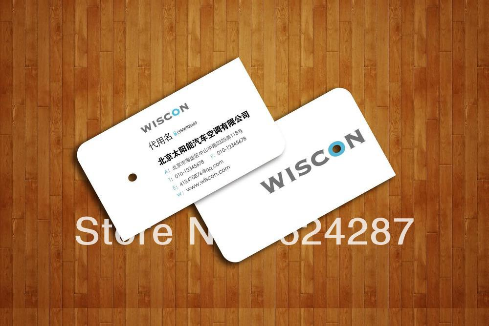 Free Shipping Custom Designed 4 Color 2 Sided Printing 300gsm Art ...