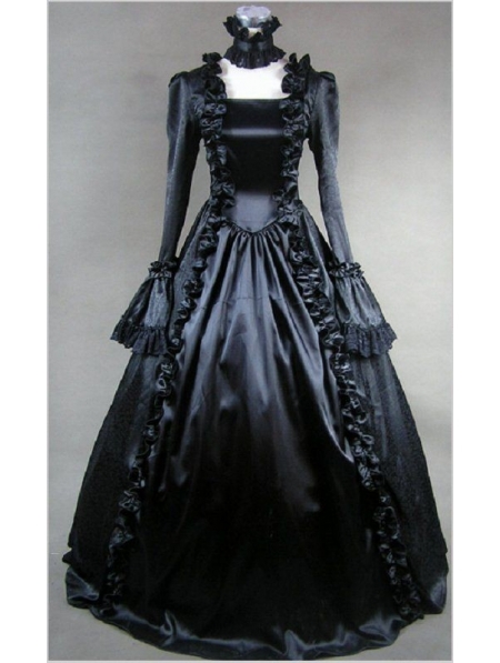 Popular Black Dresses for Masquerade Party-Buy Cheap Black Dresses ...