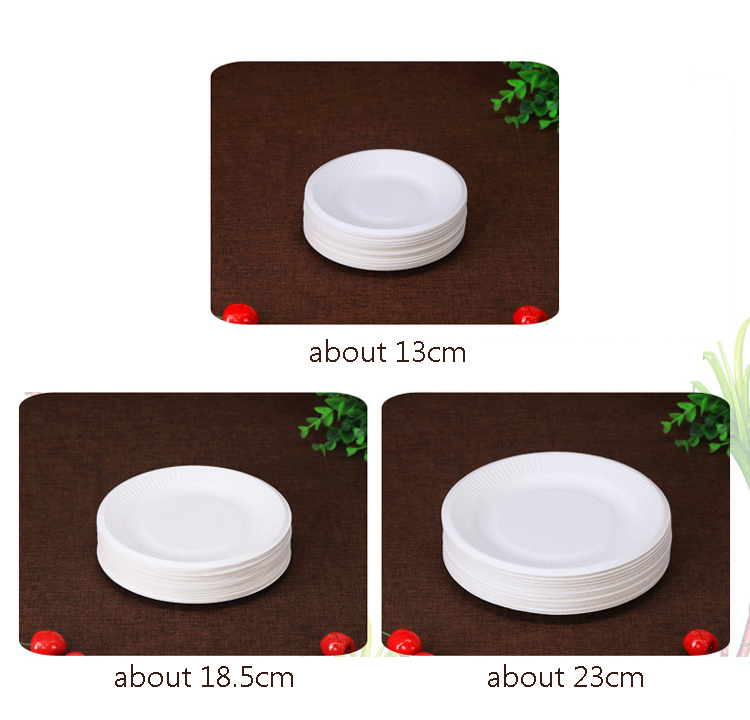 50Pcs Party Supplies Oilproof PE Coated Cake Box for Carnivals Stands