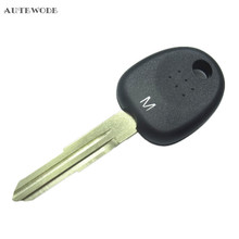 AUTEWODE Transponder car Key Shell Case Cover fit for Hyundai Tucson Accent Getz Matri  Key Fob Uncut accessories 1pc left blade